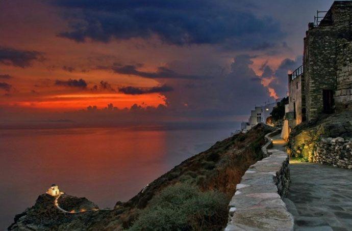 Kastro Sifnos island Greece