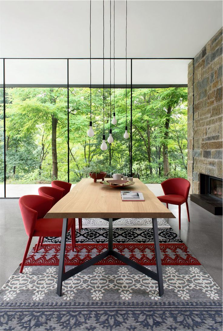 Calligaris   Status Dining Table   Available in a number of finishes and two sizes.