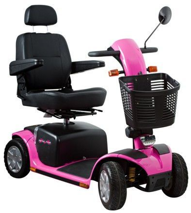 Mobility Scooters Pink Black And Scooters On Pinterest