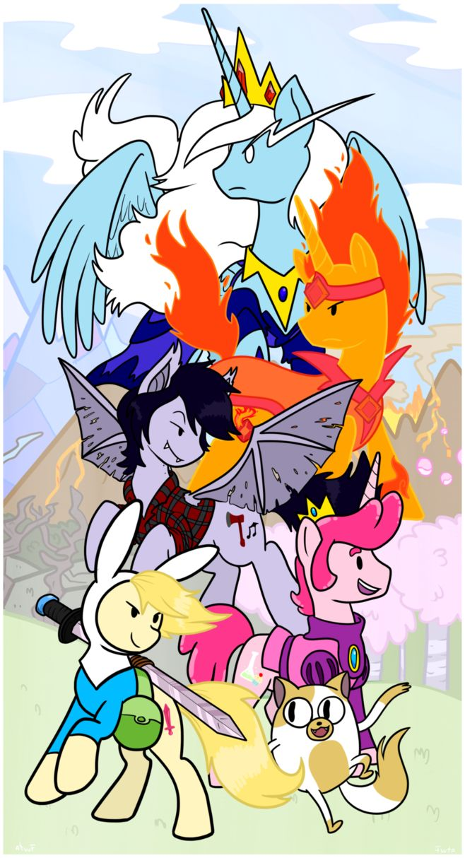MLP: Adventure Time with Fionna and Cake