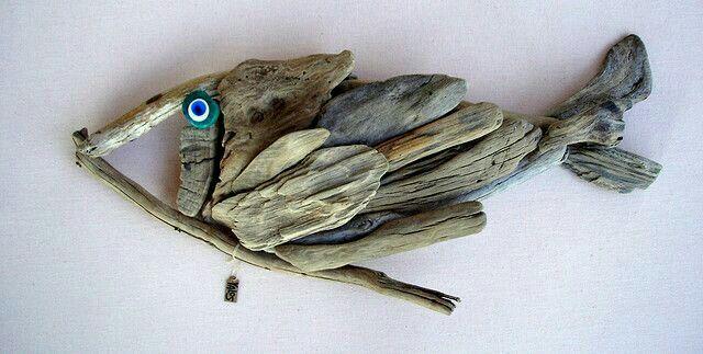 Drijfhout vis