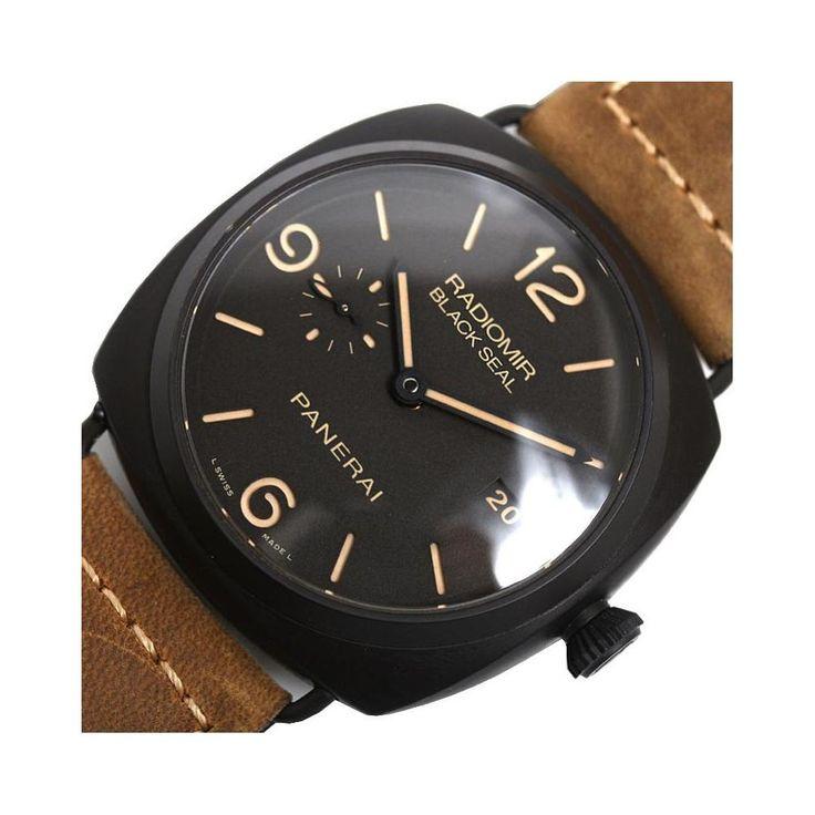 #Panerai Radiomir Composite Black Seal 3 Days Pam00505 Automatic Men's Wrist Watch