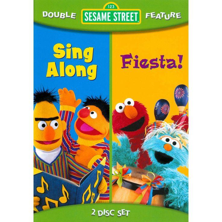 Sesame street:Fiesta/Sing along (Dvd)