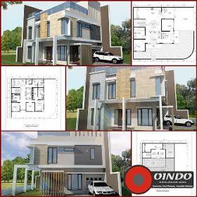 Desain Rumah Kantor