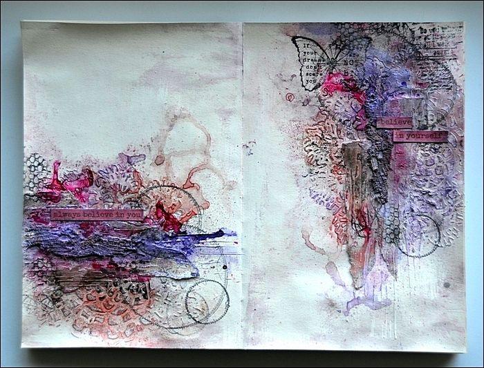 Art Journal - mixed-media.