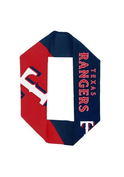Tx Rangers Acrylic Infinity Scarf I NEED THIS!!!! EVEN IN THE SUMMER. lol