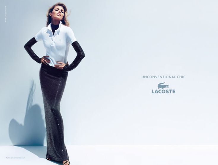 'Unconventional Chic' by Lacoste