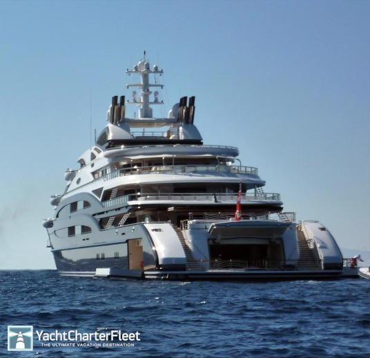 Captivating SERENE Yacht Photos   439ft Luxury Motor Yacht For Charter