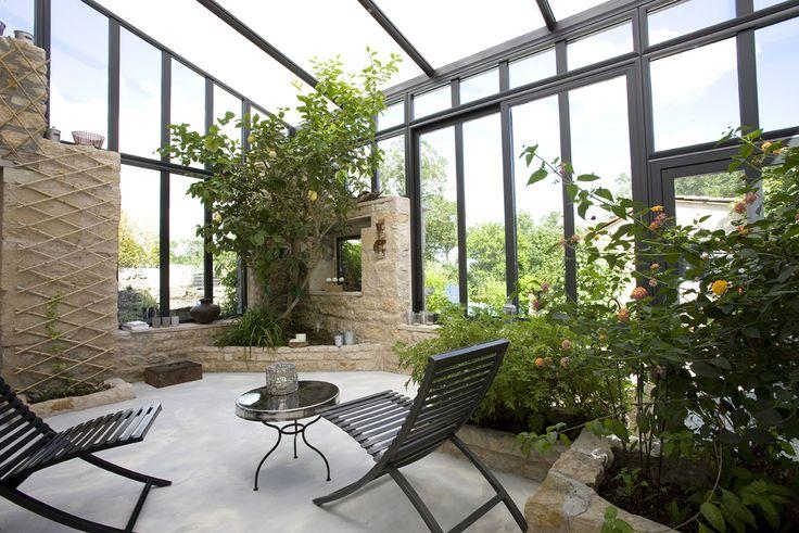 #veranda #conceptalu gamme #ARMONIA - #jardin #detente