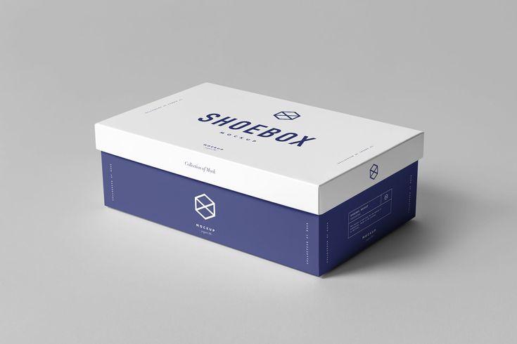 Download Shoe Box Mock Up By Yogurt86 On Envato Elements Shoe Box Design Shoe Box Luxury Box Design