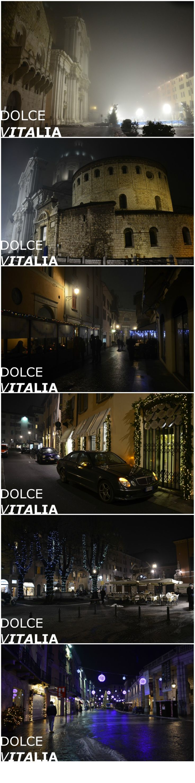 Christmas time in Brescia, Italy