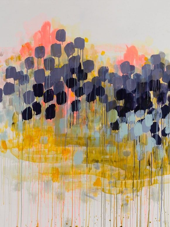 August's Humid Decline// other affordable largescale art in modern designs