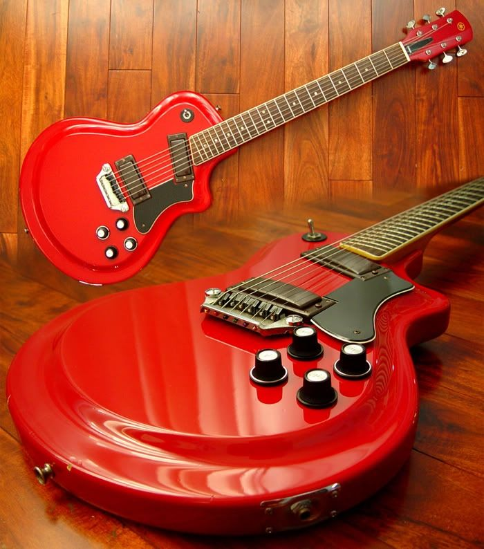 Yamaha SG-40 Japanese-made singlecut solidbody electric guitar from 1972