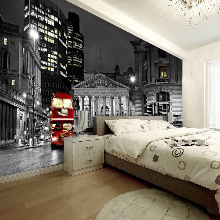 decoracion paredes dormitorio marimonio pequeño