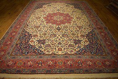 Organinc Wool Traditional Handmade 8' x 12' Cheap Clearance Rug Persian Carpet