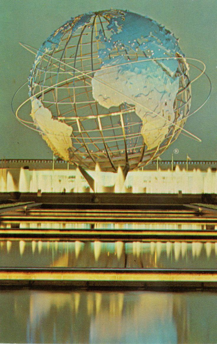 Unisphere New York Worlds Fair Expo 2015MilanWorlds