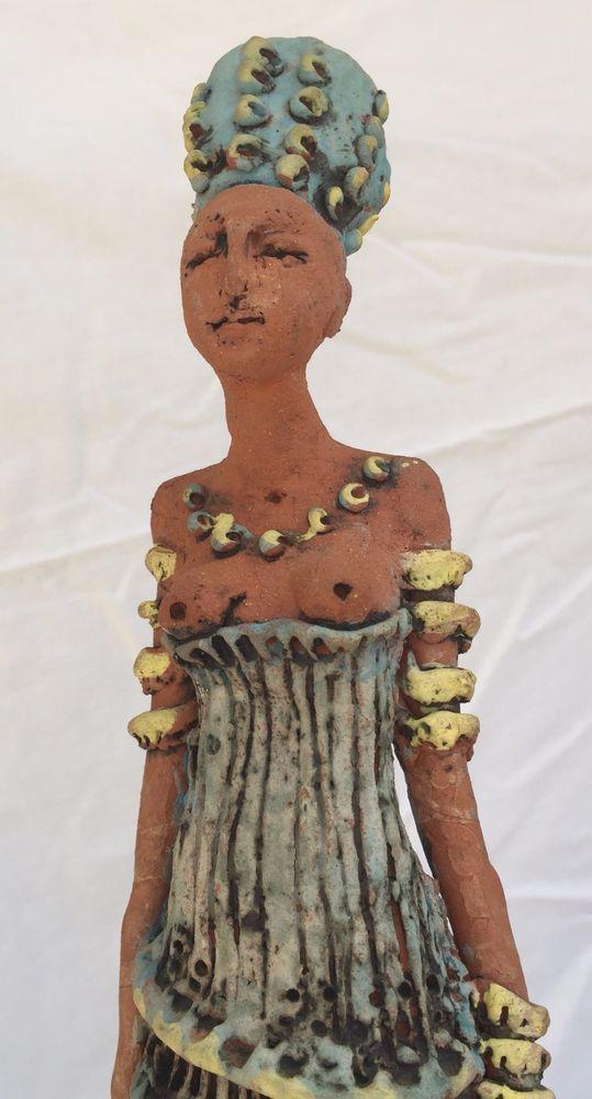Ceramic sculpture by Alice Palser