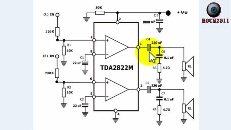 c u00f3mo leer esquemas el u00e9ctricos  amplificador