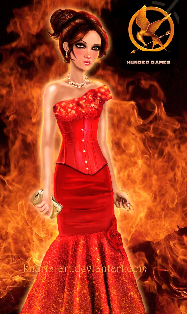 Katniss - Hunger Games Interview Dress by kharis-art ...