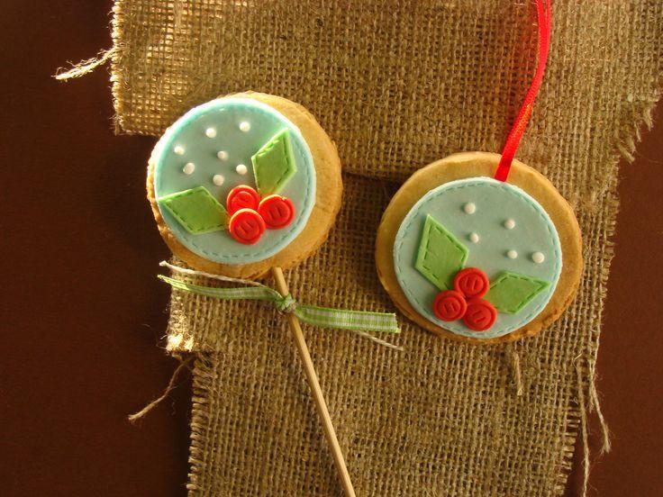 Sweet ornaments!