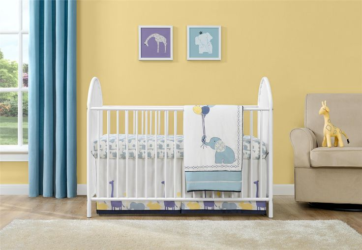 Sleep soundly at night knowing your baby is, too, in the Cosco Prism Metal Crib. You can also achieve peace of mind knowing the finish has been tested for lead and other toxic elements to meet or exceed U.S. government and ASTM safety standards. Not only is this crib safe, but the white finish will coordinate with your nursery decorating theme. The easy-to adjust mattress platform offers 3 different height options. Fits a standard sized crib mattress. Mattress sold separately. Cosco Prism…