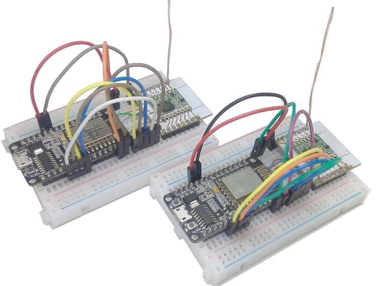 Communication <b>LoRa</b> ESP8266 & Radio RFM95   <b>LoRa</b> ...