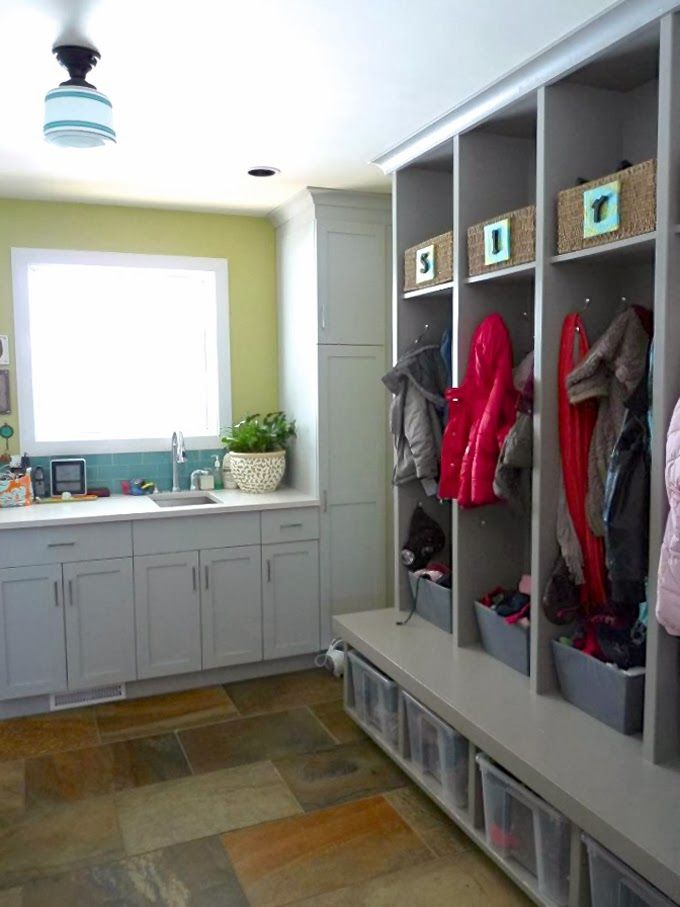 Mudroom Storage Ottawa : House of turquoise reader renovation laundry room
