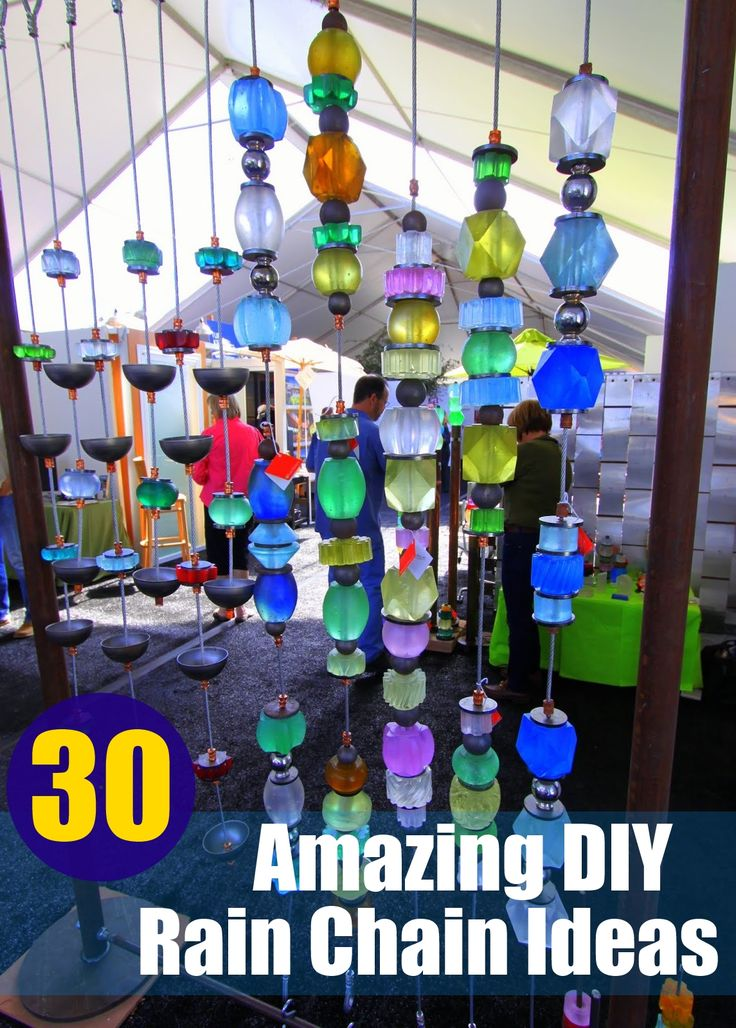 30 Amazing DIY Rain Chain Ideas                              …                                                                                                                                                                                 More
