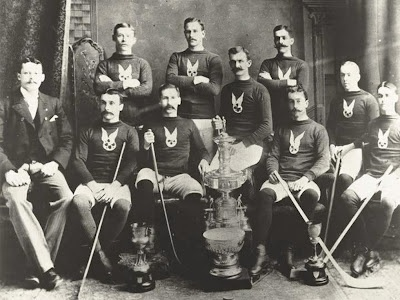 The First Stanley Cup Champions - 1893