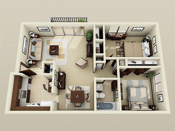 25+ best 1 bedroom flat ideas on pinterest   flat house design