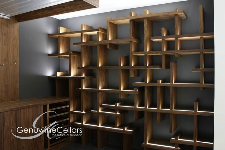 Contemporary Wine Cellar | The Cube by Genuwine Cellars