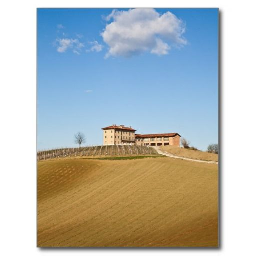 Monferrato under a blue sky postcard - $0.93