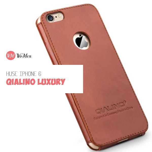 Husa pentru iPhone 6 plus din colectia QIALINO Luxury este chiar minunata!