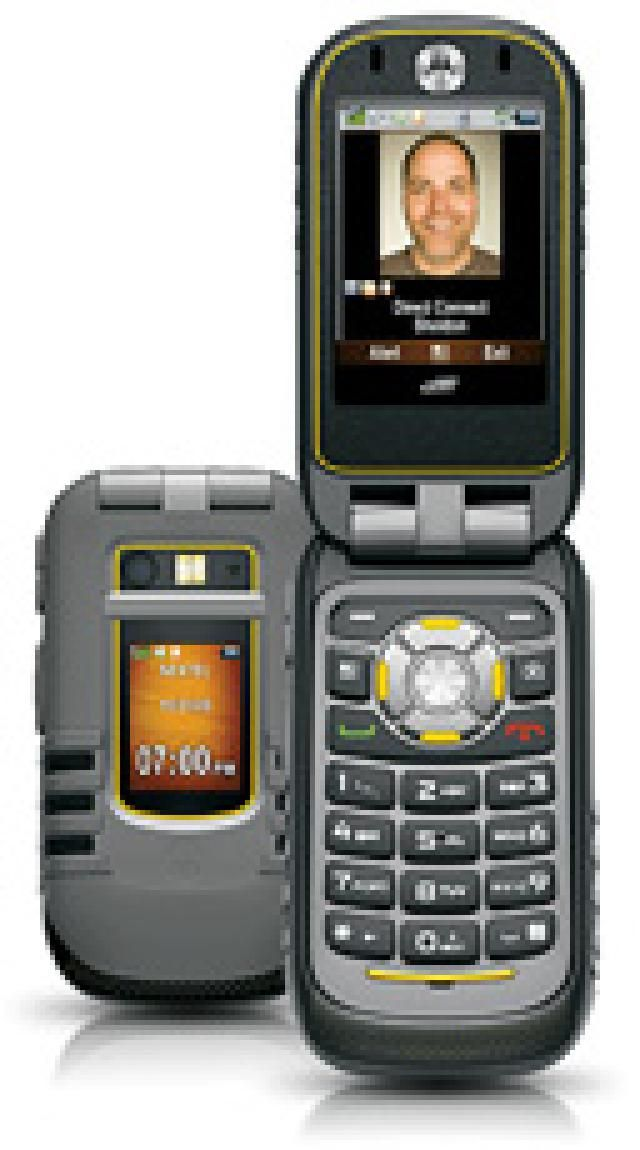 4 Rugged Cell Phones That Meet US Military Requirements: Motorola Brute i680: Rugged With Noise Cancellation (Sprint)