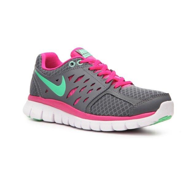 Nike Flex 2013 Run Lightweight Running Shoe - Womens found on Polyvore