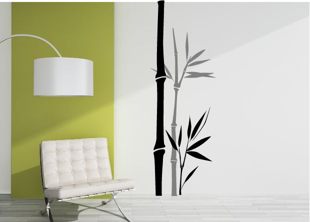 Bamboo Decal - for kitchen splashback | Grafix Wall Art