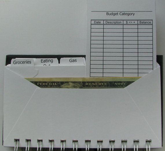 Envelope System Wallet/ Envelope Budget/ by UsingTalentsForHim