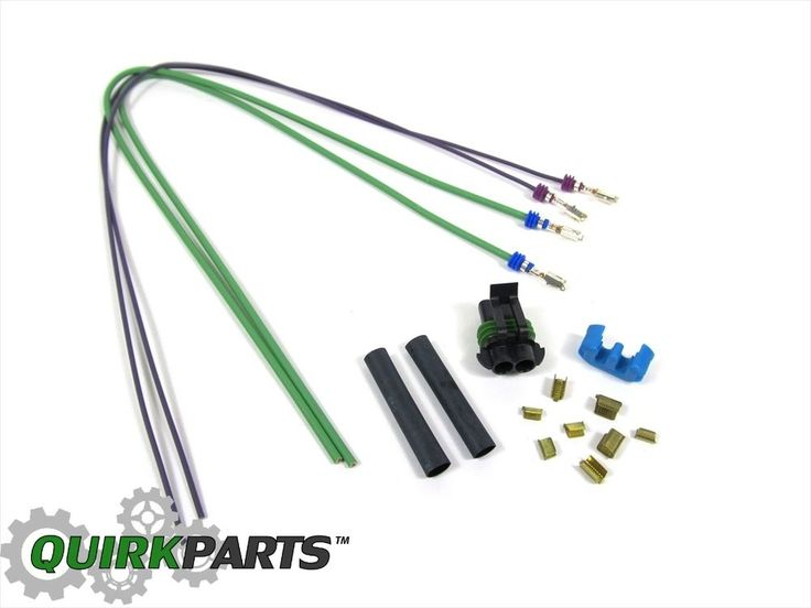 JEEP LIBERY 2.8 DIESEL FUEL FILTER WATER WIRING HARNESS & PIGTAIL MOPAR OEM NEW #MOPAR