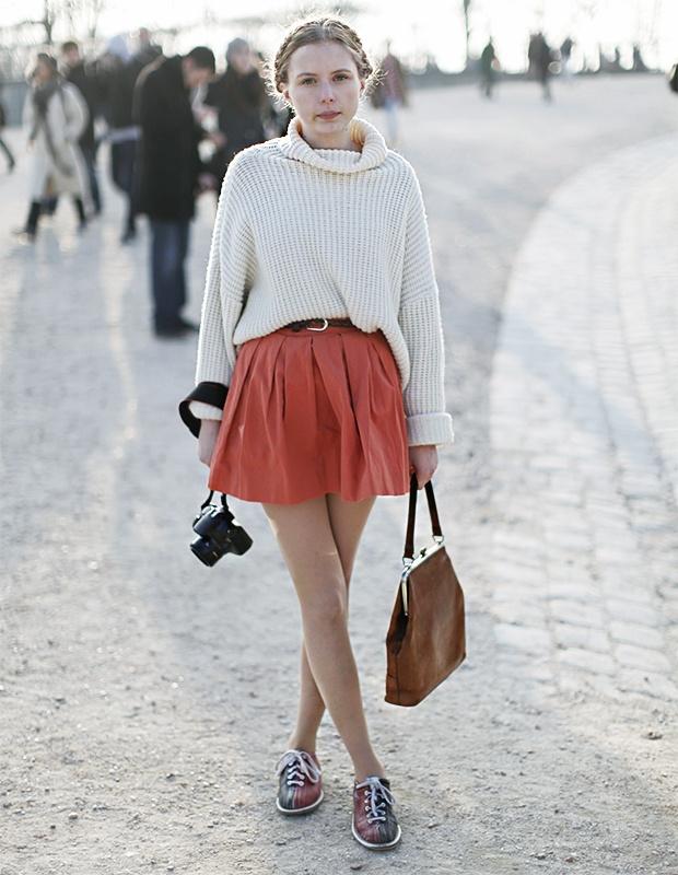 Underbart gatumode från modeveckan i Paris   Damernas Värld