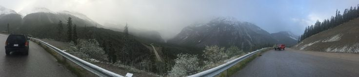 This is a pic of up in the Columbia Ice Fields north of #Jasper #BC  #KeepBCBeautiful