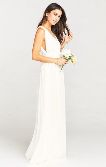 Ava up richard silk maxi dress