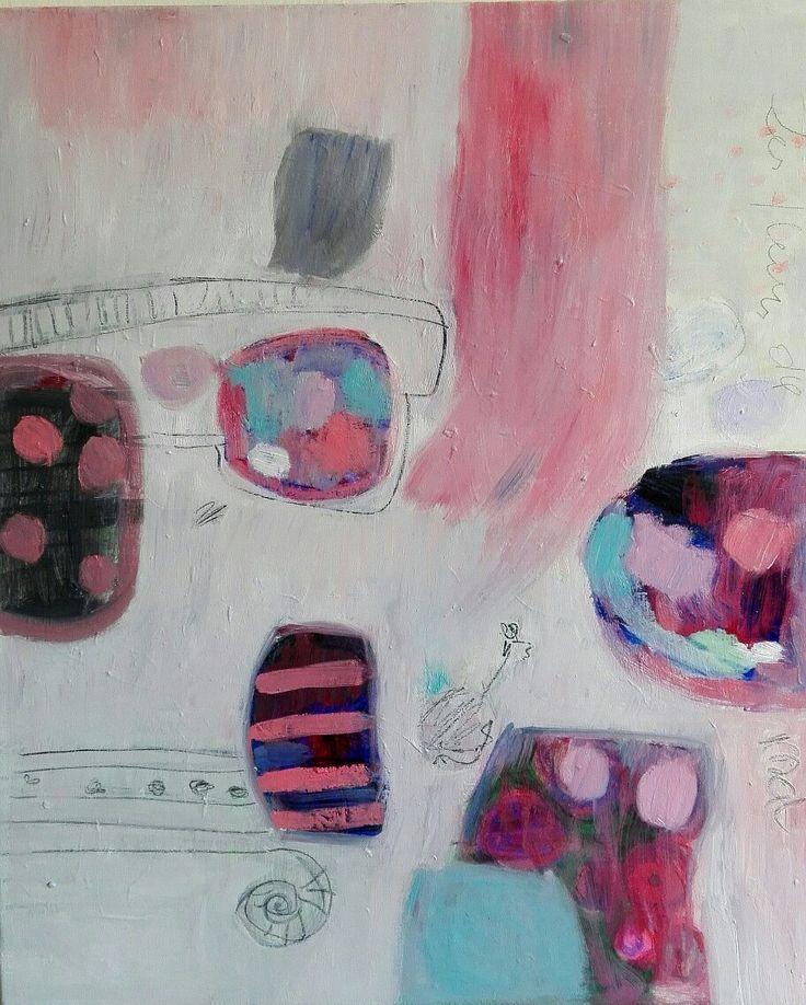 #kobus#Małgorzata#abstract painting#garden