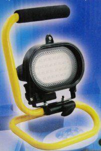 Projecteur Lampe sur pied 28 LED Orientable Halogene Bricolage Garage Chantier