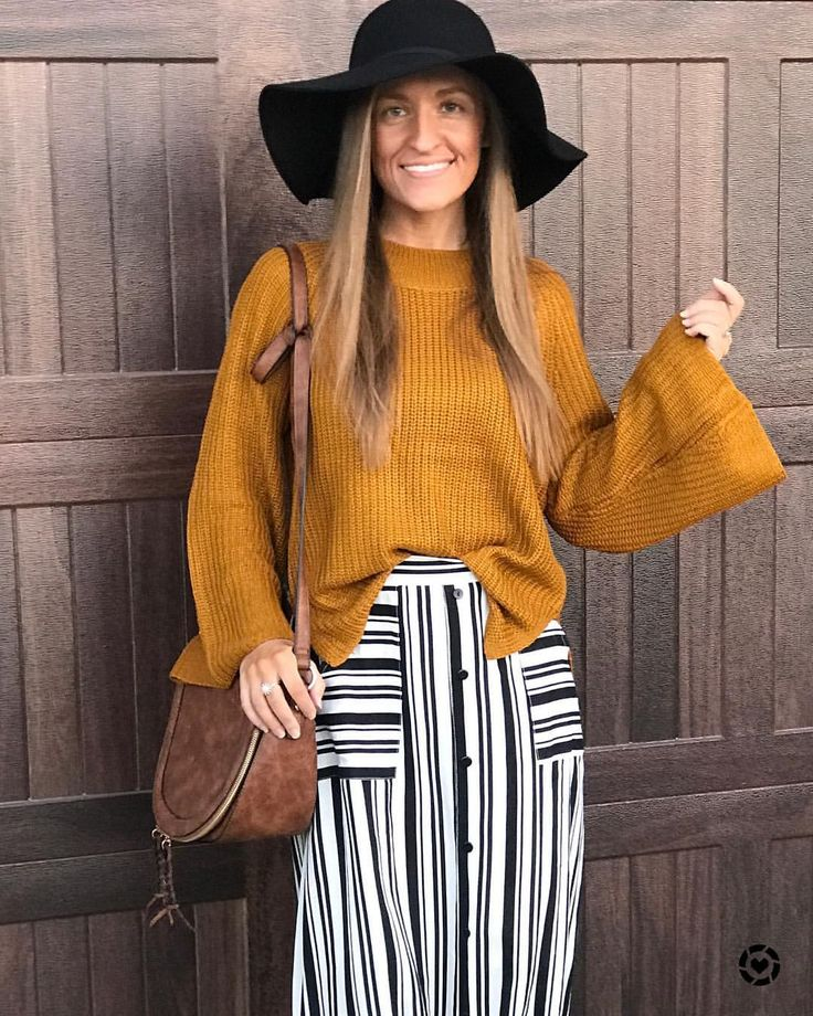 """393 Likes, 5 Comments - Heather (@savvyskirtgirl) on Instagram: """"My handbag is finally back in stock in the cognac color shown here!! Linking it with @liketoknow.it…"""""""