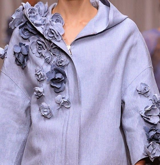 patternprints journal: PRINTS, PATTERNS AND SURFACE EFFECTS: BEAUTIFUL DETAILS FROM MILAN FASHION WEEK (WOMAN COLLECTIONS SPRING/SUMMER 2015) / 9