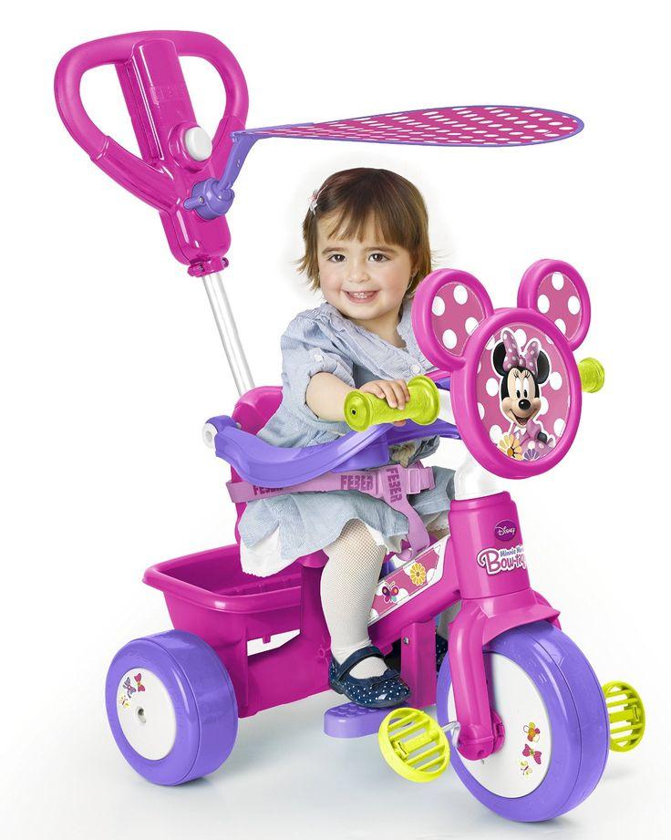 TRICICLO MINNIE INFANTIL FEBER 700012541, IndalChess.com Tienda de juguetes online y juegos de jardin