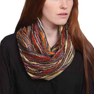 Australian Made Gifts & Souvenirs with the Limited Edition Sarah Leo Silk Scarf -by Scorched Earth. For the best Australian online shopping for a Scarves - 1