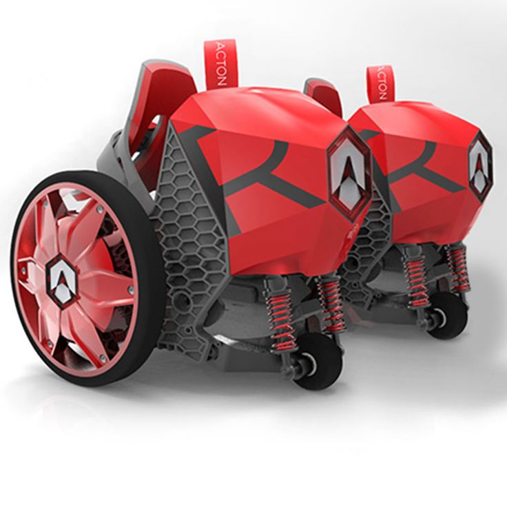 "The 12 MPH Electric Skates - These are the motorized electric roller skates that propel a wearer at up to 12 mph. Two sets of step-in footplates secure most types of footwear with strap bindings similar to those on snowboard boots, accommodating small and large feet. Supporting riders up to 275 lbs., each skate's twin 6""-diam. wheels has a 50-watt motor integrated into its fiber-reinforced nylon frame."