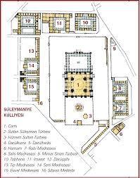 Süleymaniye mosque layout plan