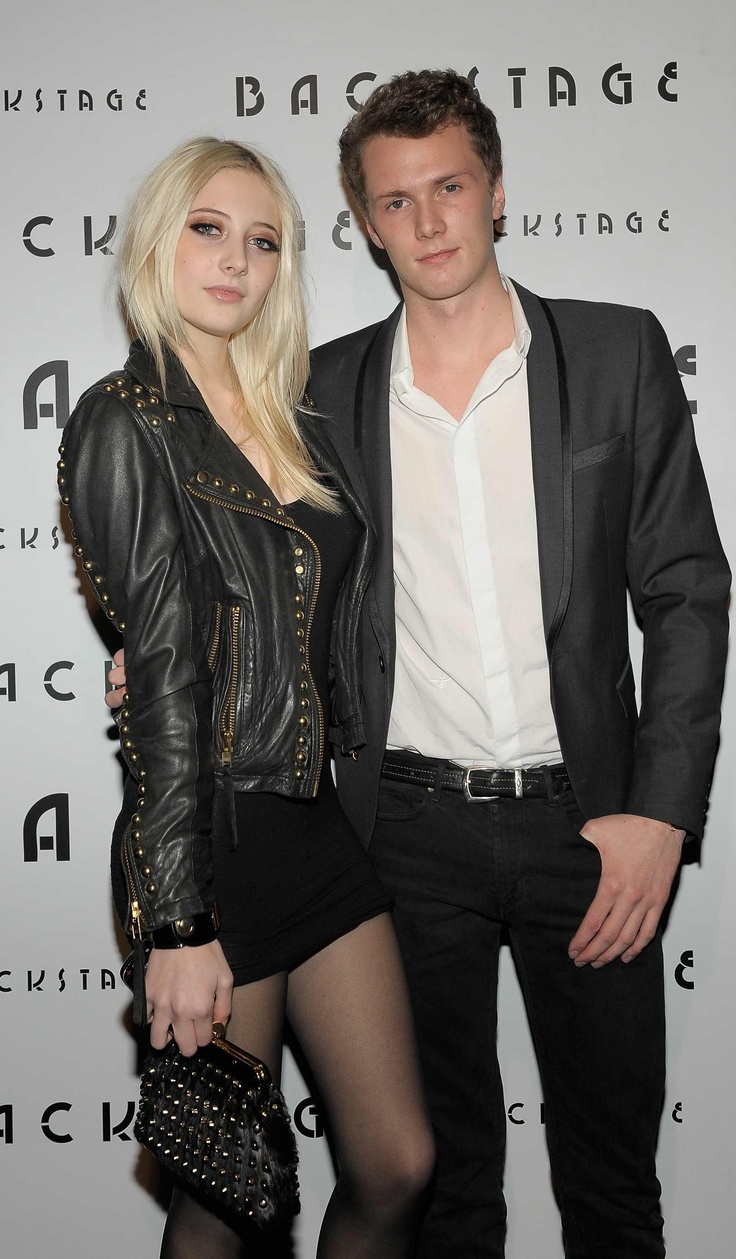 Barron Hilton and Vanessa Dubasso at Backstage Event ...